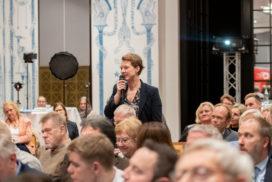 Das Publikum stellte eifrig Fragen