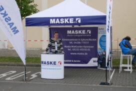 Mit Maske Fleet nahm auch eine Auto-Langzeitvermietung teil.