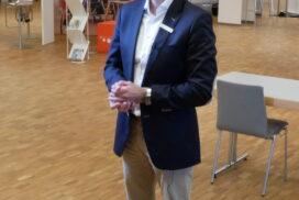 Auch Michael Eickmeier stellte sich für ein Interview vor unsere Kamera.